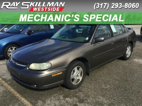 Pre-Owned 2002 Chevrolet Malibu LS