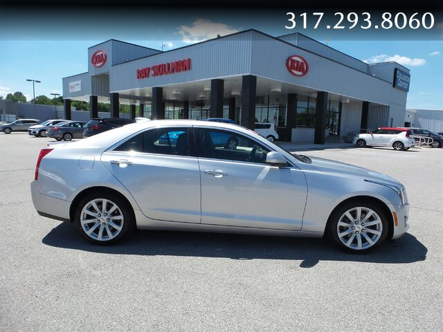Pre-Owned 2018 Cadillac ATS AWD,MOONROOF