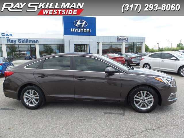 Hyundai Dealership Indianapolis >> Pre Owned 2015 Hyundai Sonata 2 4l Se Sedan In Indianapolis Jh0954