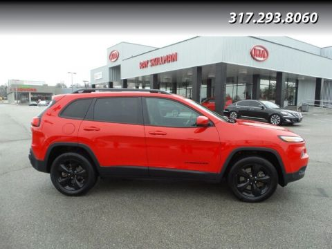 Pre-Owned 2017 Jeep Cherokee LIMITED,MOONROOF
