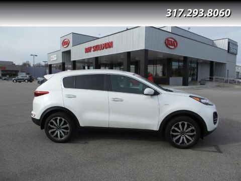 Certified Pre-Owned 2017 Kia Sportage EX